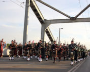 Kernow Pipes & Drums at John Frost Bridge Arnhem 2016