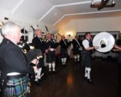 Kernow Pipes and Drums Burns Night get together 2016