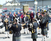 kernow pipes and drums at trevithick day 2016