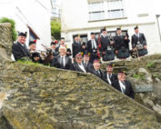 kernow pipes and drums at polperro music festival 2016