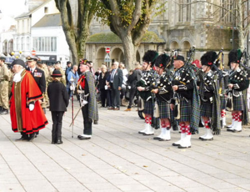 Sunday 13th November, Falmouth Remembrance Parade