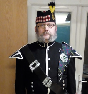 Kelvyn Cruddace, Kernow Pipes and Drums