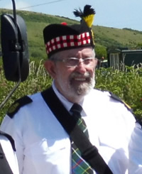 Vic Coop, Kernow Pipes and Drums