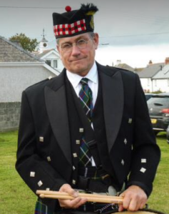 Kernow Pipes and Drums Chris Nixon