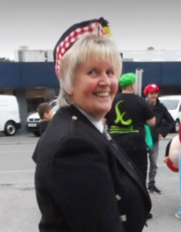 Kernow Pipes and Drums Sue Robertson