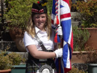 Kernow Pipes and Drums at Dobwalls Help the Heroes fundraiser 2013