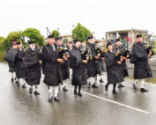 kernow pipes and drums at st merryn carnival 2016