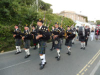 kernow pipes and drums at padstow carnival 2017