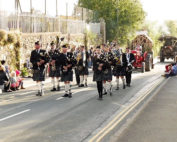 Kernow Pipes & Drums at St Columb Carnival 2017
