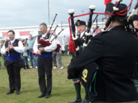 Kernow Pipes and Drums at Saltash 2014