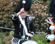 Kernow Pipes and Drums at Trebah 2014