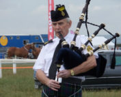 Kernow Pipes and Drums at Camborne Show 2014
