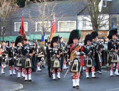 Sunday 9th November – Falmouth Armistace Day Parade