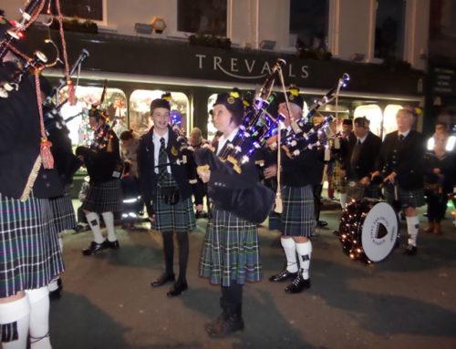 Wednesday 18th November, City Of Lights Parade Truro