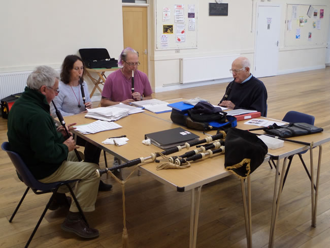 regular workshops with kernow pipes and drums