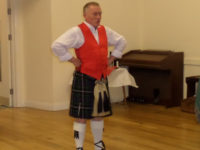 Kernow Pipes and Drums Burns Night 2015