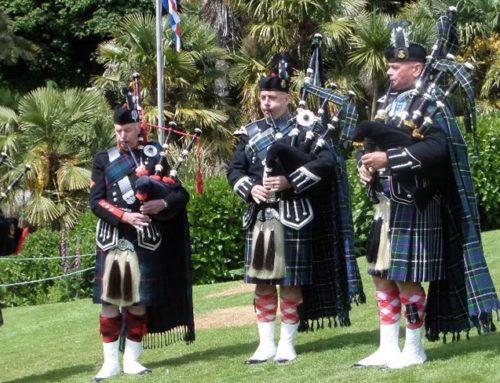 Saturday 30th May Para Regt Assoc Parade, Trebah Gardens, Falmouth