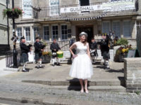 Kernow Pipes and Drums at St Ives Wedding Fair 2015