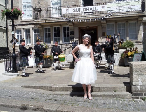 Sunday 7th June 2015  – Cornish Wedding Fair, Guildhall, St Ives