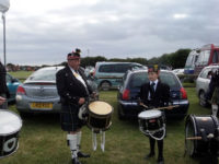 kernel pipes and drums at st merryn carnival 2015