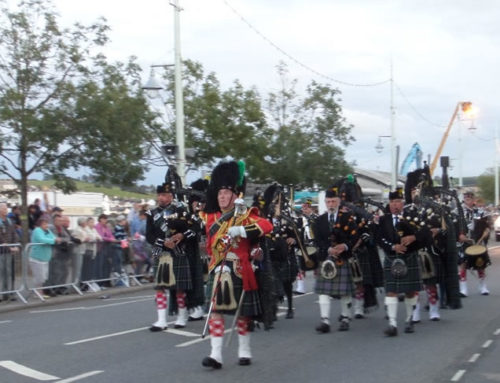 Saturday 12th September, Bideford Massed Bands