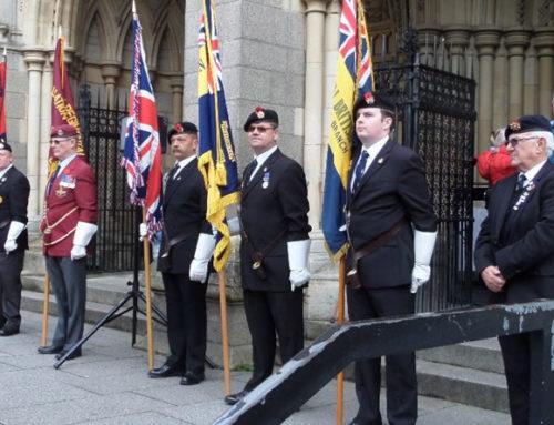 Saturday 24th October, British Legion Poppy Launch