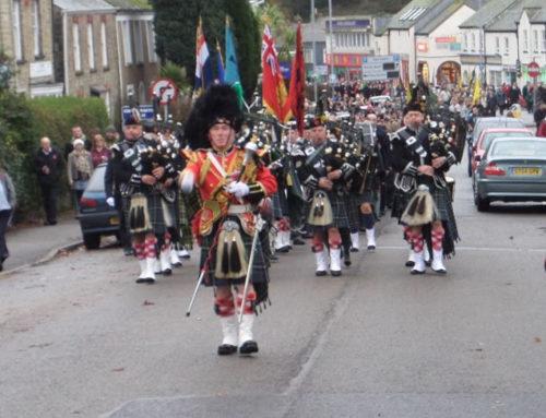 Sunday 8th November, Falmouth Remembrance Parade