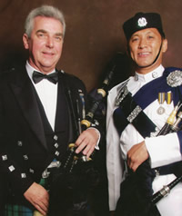Alex McColl Kernow Pipes and Drums