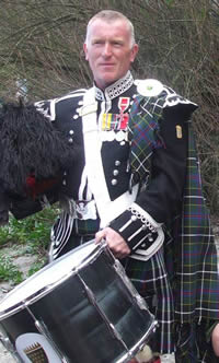 Andrew Gower Kernow Pipes and Drums