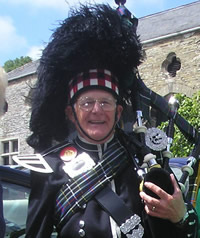 David Cox Kernow Pipes and Drums