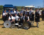 Kernow Pipes & Drums at Vintage Tractor Rally in Fraddon 2017