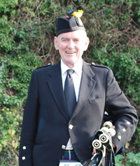 Ian Fraser of Kernow Pipes and Drums