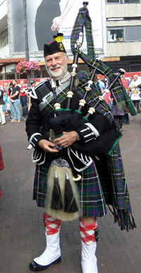 John Christophers Kernow Pipes and Drums