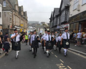 Kernow Pipes & Drums at Newquay Carnival 2017