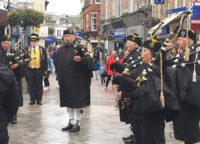 Kernow Pipes & Drums at Newquay Lifeboat Day 2017