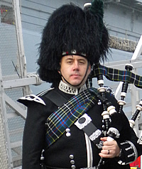 Rob Jenkins Kernow Pipes and Drums