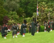 Kernow Pipes & Drums at Trebah Gardens 2017