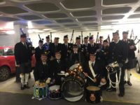 City Of Lights January Kernow Pipes and Drums