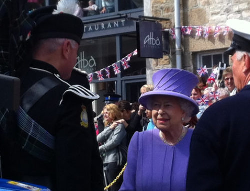 HM The Queen visit to St Ives
