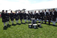Kernow Pipes and Drums at Saltash 2013