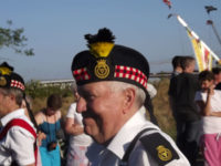 Kernow Pipes and Drums at Delabole carnival 2013