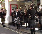 Kernow Pipes & Drums at St Ives Festival 2013