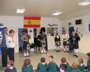 Kernow Pipes and Drums at 18th Truro cubs 2013