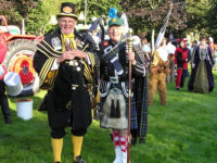 Kernow Pipes and Drums at Truro carnival 2012
