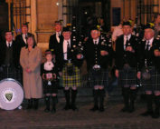 Kernow Pipes and Drums at Truro Cathedral 2013