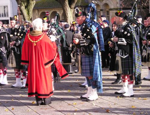 Armistace Day Falmouth 11/11/2012