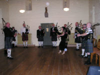 Kernow Pipes and Drums dinner dance 2012