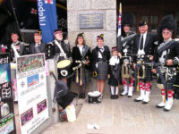 Kernow Pipes and Drums at RNLI St Ives 2013