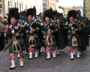 Kernow Pipes and Drums at Truro Remembrance parade 2012