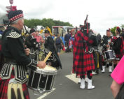 Kernow Pipes and Devon Show with City of Exeter Pipes and Drums 2011